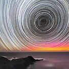 Aurora Star Trails by Alex Cherney