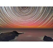 Aurora Spin Photographic Print