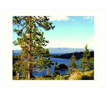 """Beautiful Tahoe"" Art Print"