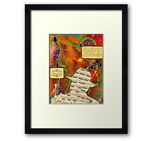 A Gifted Man's Obsession Framed Print