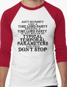 Time Lord Party Men's Baseball ¾ T-Shirt