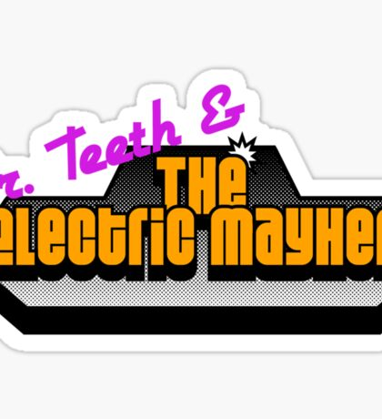 The Electric Mayhem Sticker