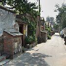 Beijing 2006 - Just an ordinary hutong street by Marjolein Katsma