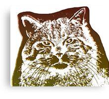 wild cat, 3d Canvas Print