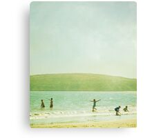 Summer Beach Canvas Print