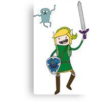Adventure Link, Navi-Jake Canvas Print