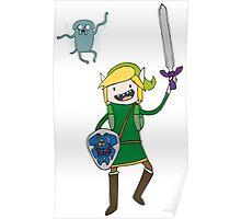 Adventure Link, Navi-Jake Poster
