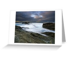 """The Gentle Wash"" ∞ Bermagui, NSW - Australia Greeting Card"