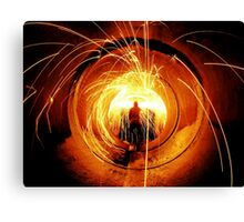 Fire It Up Canvas Print