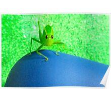 Green& Blue Scene! Poster