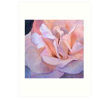 Heart of a Rose 1 Art Print