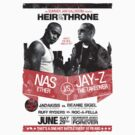 Jay-Z vs Nas - Heir to the Throne by popephoenix