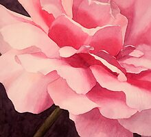 Heart of a Rose 4 by Jan Lawnikanis