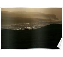 Cliffs of Ireland Poster