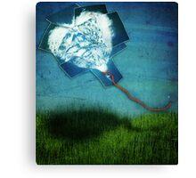 ~ the cloud heart ~ Canvas Print