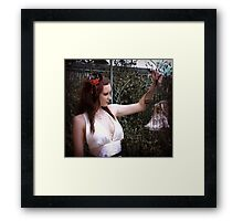 A cage for you and me Framed Print