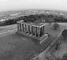 Calton Hill and Edinburgh's disgrace by Mark  Johnstone