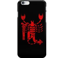 Scorpio. iPhone Case/Skin