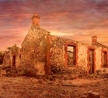 Deserted - Red Creek Rd, Hartley, Murraylands, SA by Mark Richards