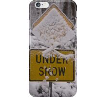 Under Snow Cover iPhone Case/Skin