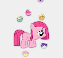 Giggle At The Cupcakes Pinkie Pie! by Empanlegend
