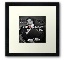 Vote Republican! 6 Framed Print