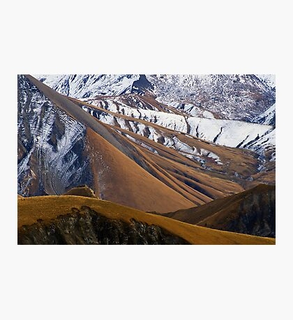 Like an autumn smell on the Alps Photographic Print
