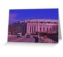 Yankee Stadium, The Bronx- New York, New York Greeting Card