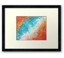 Oceans Apart  Framed Print