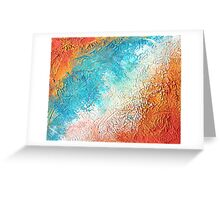 Oceans Apart  Greeting Card