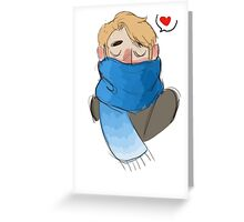 cold Greeting Card