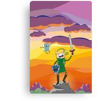 Adventure Link, Navi-Jake Sunset Canvas Print
