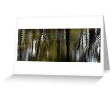 Rippling reflections Greeting Card