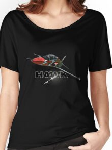 BAE Hawk Women's Relaxed Fit T-Shirt