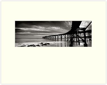 The Jetty - B&W by Michael Howard