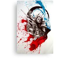 Graffiti Girl #4 Canvas Print