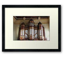 School Organ Framed Print