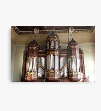 School Organ Metal Print