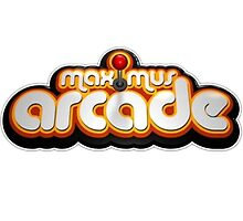 Retro Maximus Arcade Logo by GamerRexDesigns