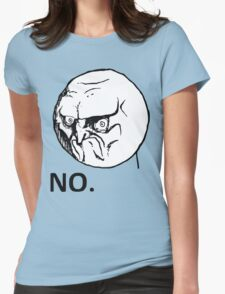 NO! TROLL Womens Fitted T-Shirt
