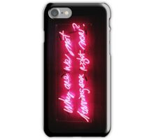Why Not? iPhone Case/Skin