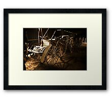 Horse Carriages 1 Framed Print