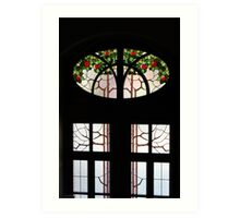 Window With Some Flair Art Print