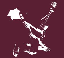 Guitarist - Leaping by Steve Dunkley