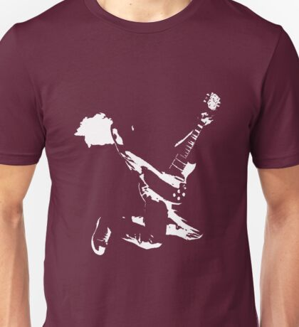Guitarist - Leaping Unisex T-Shirt
