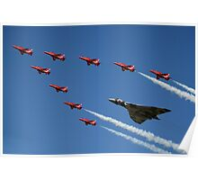 Vulcan Red Arrows Poster
