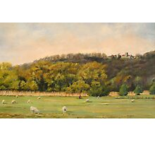 Pastoral in West Hythe Photographic Print