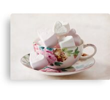 Luvin' cup Canvas Print