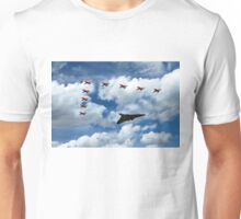 Vulcan Red Arrows Unisex T-Shirt