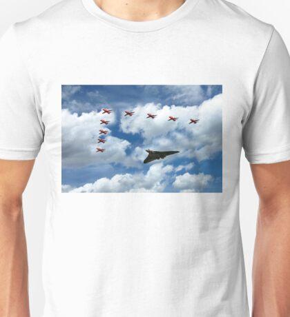 Vulcan Red Arrows Unisex T-Shirt